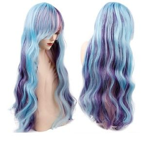 28 Inch Long Wave Lolita Wigs Sexy Hair High-Tempe